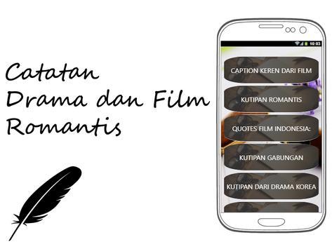 Catatan Drama Dan Film Romantis Apk App تنزيل مجاني لأجهزة