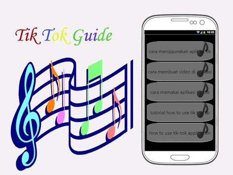 Guide TikTokk Tutorial poster