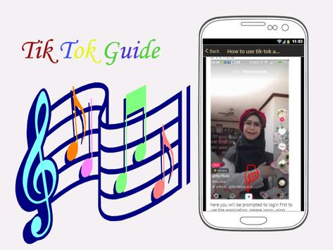 Guide TikTokk Tutorial apk screenshot