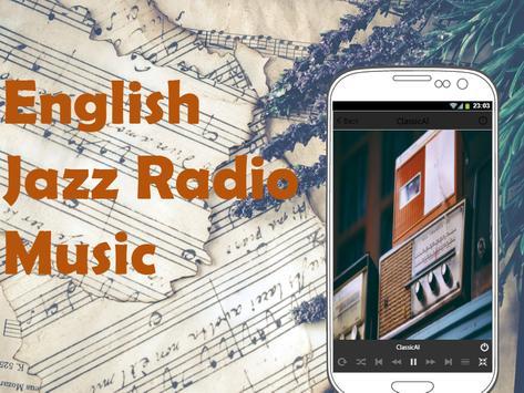 English Jazz Music Radio screenshot 1