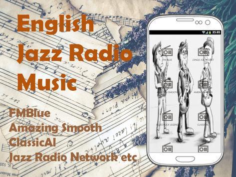 English Jazz Music Radio screenshot 2