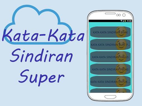 Kata-Kata Sindiran Super poster
