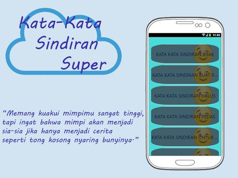 Kata-Kata Sindiran Super apk screenshot