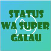 Status WA Super Galau icon