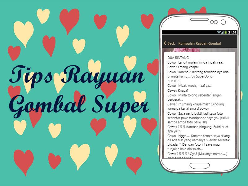 Tips Rayuan Gombal Super for Android - APK Download