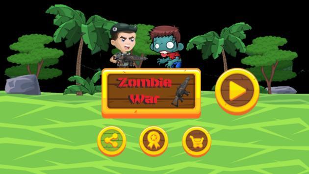 Zombie War poster