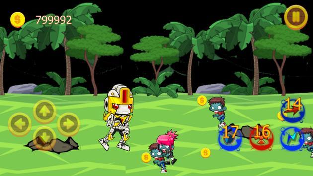 Zombie War apk screenshot