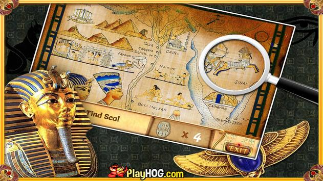 Free Hidden Objects Games Free New Curse of Egypt screenshot 4