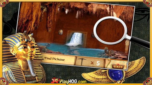 Free Hidden Objects Games Free New Curse of Egypt screenshot 6