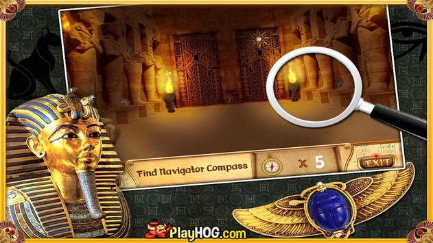 Free Hidden Objects Games Free New Curse of Egypt screenshot 1