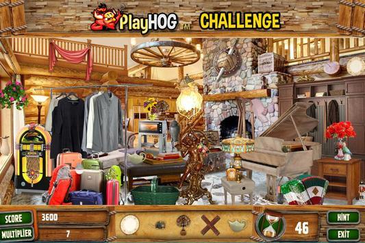 Hidden Objects Cabin in the Woods Challenge # 308 screenshot 1