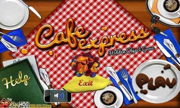 # 246 New Free Hidden Object Games - Cafe Express apk screenshot