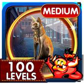 Challenge #46 Dark Alley Free Hidden Objects Games icon