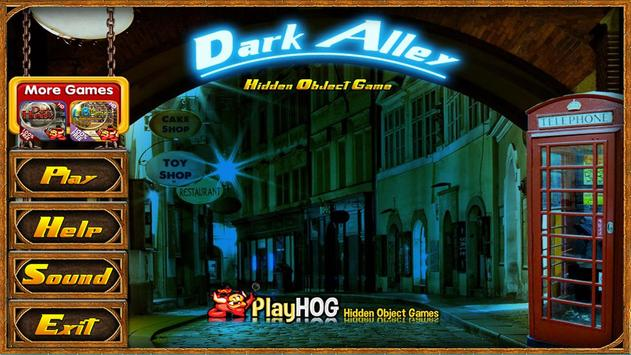 Challenge #46 Dark Alley Free Hidden Objects Games screenshot 3