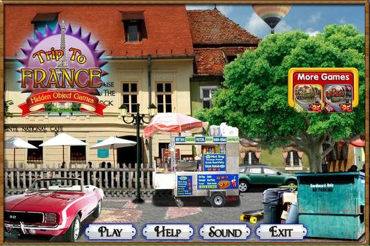 Challenge #6 Trip to France New Hidden Object Game screenshot 3