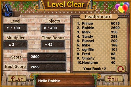 Challenge #6 Trip to France New Hidden Object Game apk screenshot