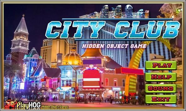 Challenge #116 City Club Free Hidden Objects Games apk screenshot