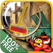 Free New Hidden Object Games Free New Fun Clean Up icon