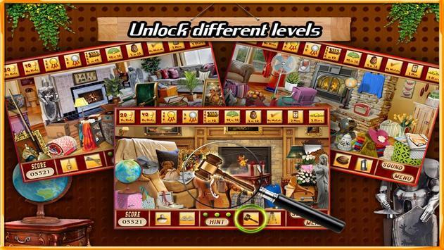 Free New Hidden Object Games Free New Fireplace apk screenshot