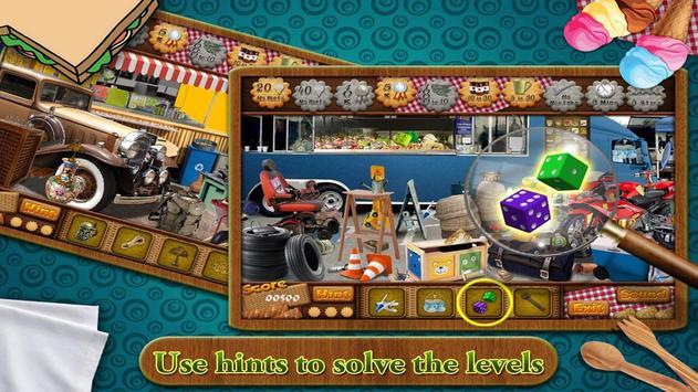 Free New Hidden Object Games Free New Fun Food Van apk screenshot