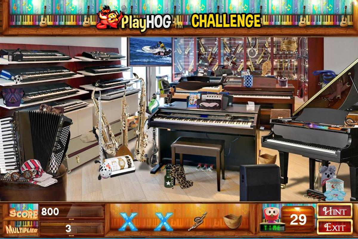 Challenge 114 Music And Stuff Hidden Object Games Cho Android Tải