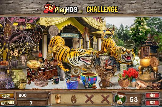 Challenge #79 Secret Temples Hidden Objects Games screenshot 4