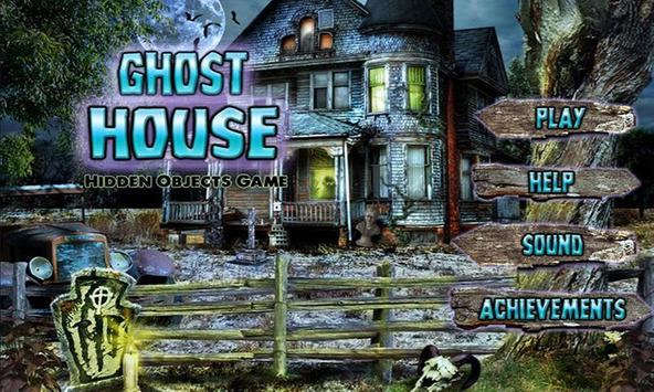 # 106 Hidden Objects Games Free New - Ghost House screenshot 1