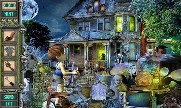 # 106 Hidden Objects Games Free New - Ghost House screenshot 4