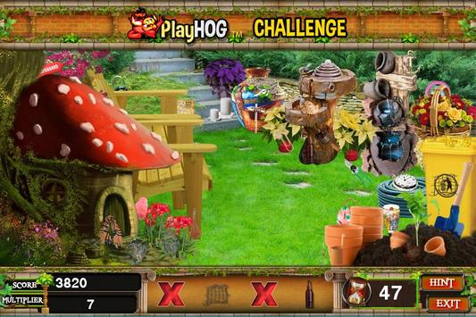 Challenge #45 Park Land Free Hidden Objects Games poster