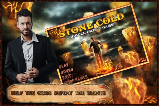 New Free Hidden Object Games New Free Stone Cold poster