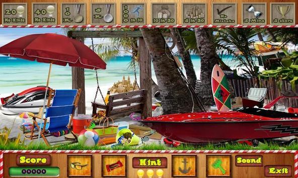 # 287 New Free Hidden Object Games - Summer Beach poster