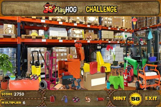 Hidden Object Games Top Warehouse Challenge # 322 poster