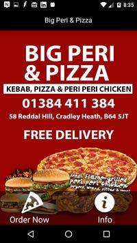 Big Peri & Pizza,Cradley Heath poster