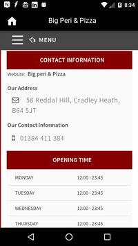 Big Peri & Pizza,Cradley Heath screenshot 2