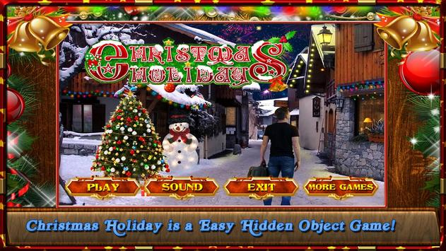 New Hidden Object Games Free New Christmas Holiday poster