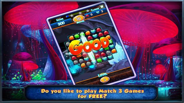 Match Three Free New Diamond Drop Match 3 Free New screenshot 5