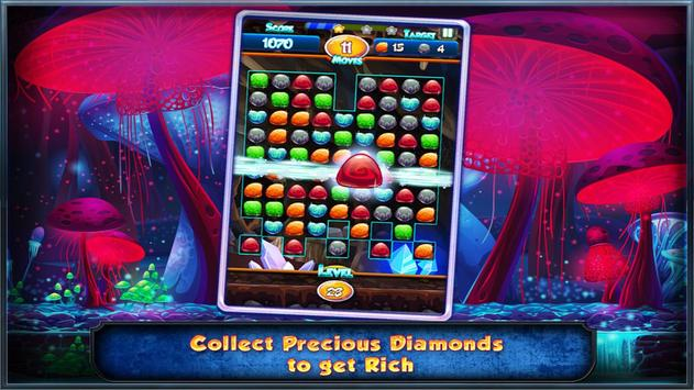 Match Three Free New Diamond Drop Match 3 Free New screenshot 8