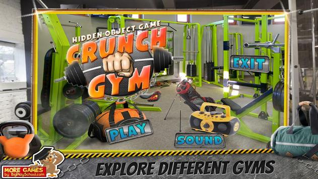 32 Free New Hidden Object Game Free New Crunch Gym screenshot 11