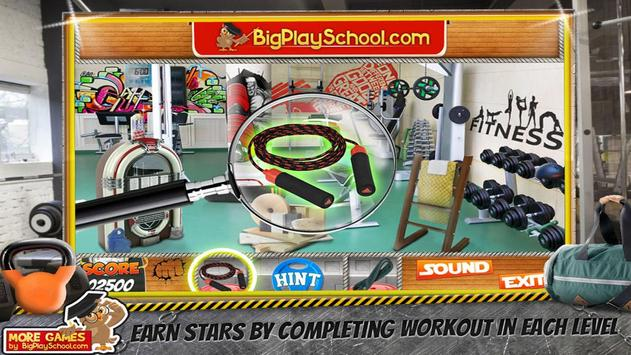 32 Free New Hidden Object Game Free New Crunch Gym screenshot 5