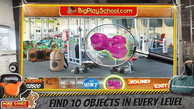32 Free New Hidden Object Game Free New Crunch Gym screenshot 8