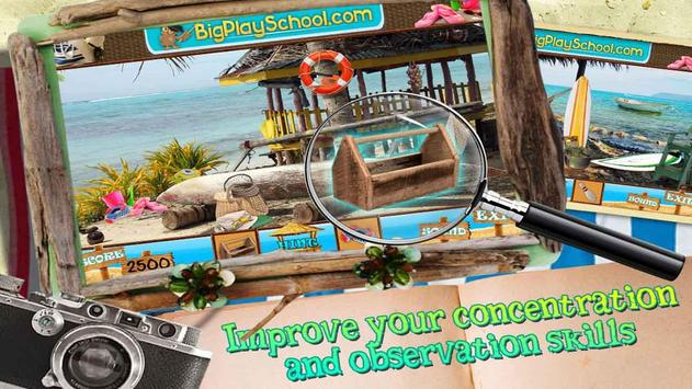 29 New Free Hidden Objects Games Free Beach Shack poster
