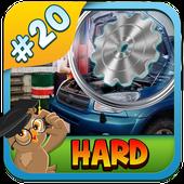 20 New Free Hidden Object Game Free New Garage Fun icon
