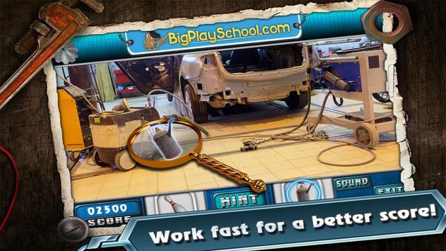 20 New Free Hidden Object Game Free New Garage Fun screenshot 1
