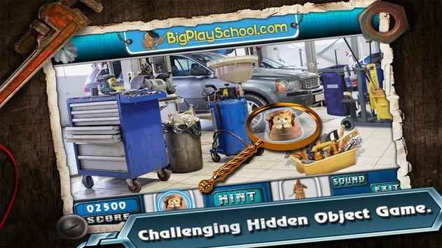 20 New Free Hidden Object Game Free New Garage Fun screenshot 2