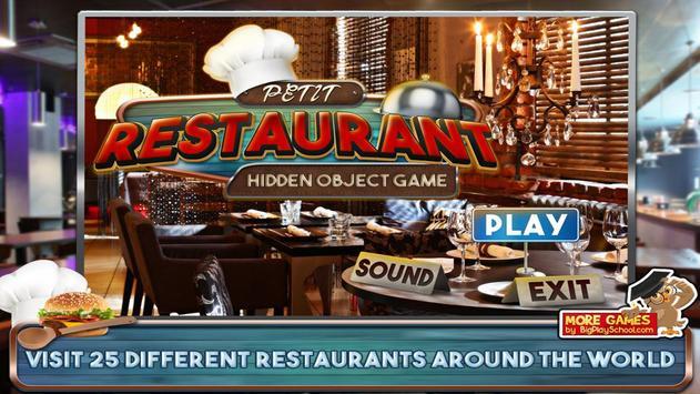 48 Free Hidden Objects Games Free Petit Restaurant screenshot 3