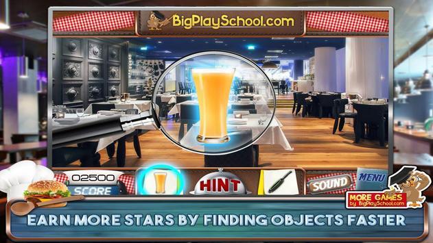48 Free Hidden Objects Games Free Petit Restaurant screenshot 2