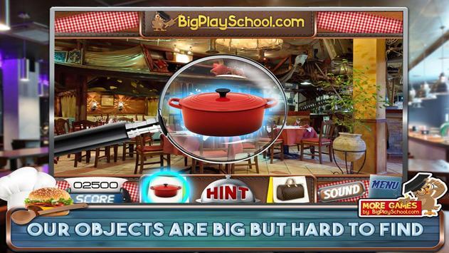 48 Free Hidden Objects Games Free Petit Restaurant screenshot 4