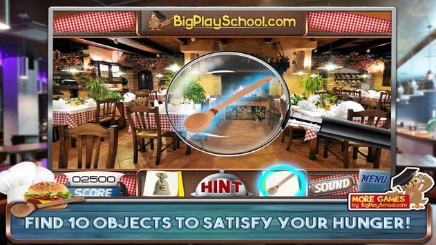 48 Free Hidden Objects Games Free Petit Restaurant screenshot 9