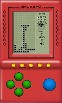 Classic Game Boy~tetris snake~ apk screenshot