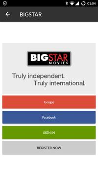 BIGSTAR Movies & TV poster
